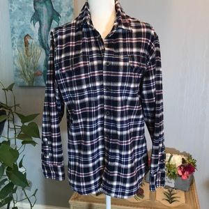 JACHS New York Flannel Button Down Shirt M